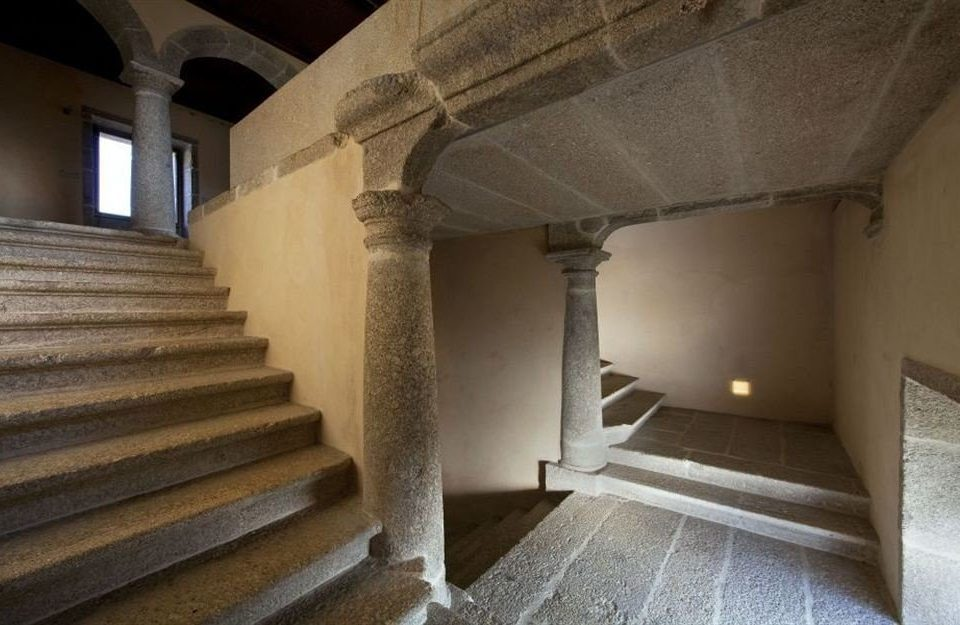 building property house Architecture stair home stairs attic step stone colonnade