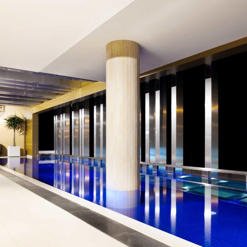 Australia Classic Hotels Melbourne Play Pool property Architecture Lobby leisure centre lighting headquarters condominium convention center Resort colored