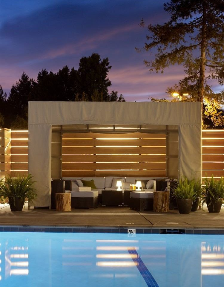 tree house swimming pool home Architecture backyard professional siding