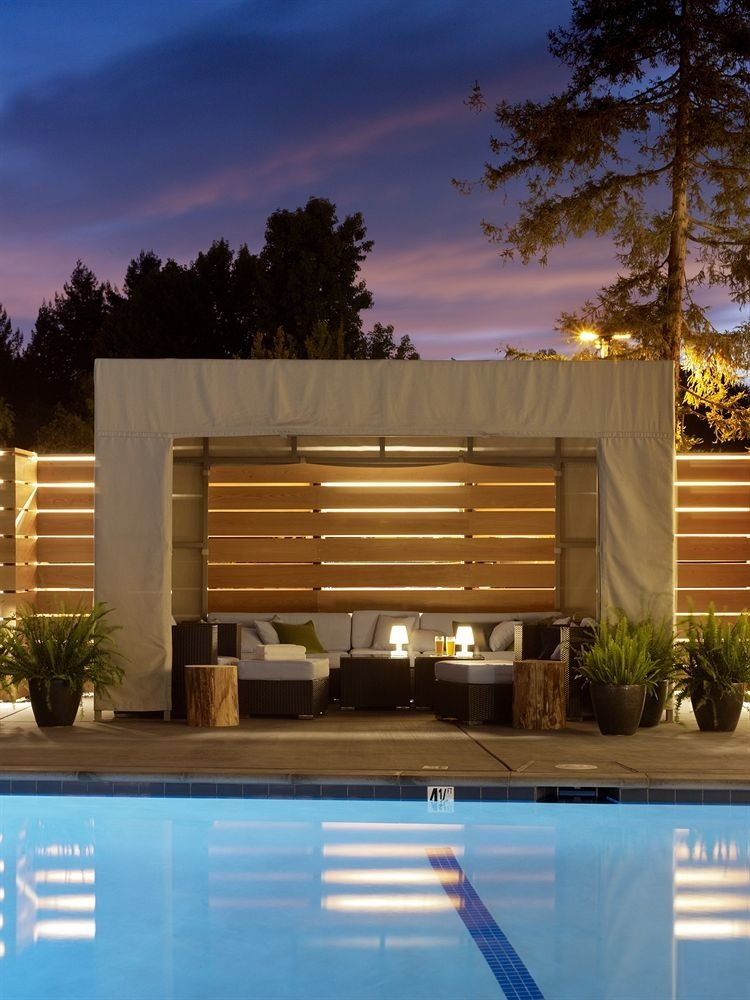tree house swimming pool home Architecture backyard professional siding