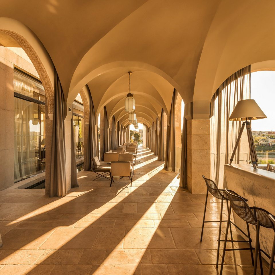 Balcony Bar Drink Lounge Resort Trip Ideas Lobby Architecture arch hall palace mansion colonnade