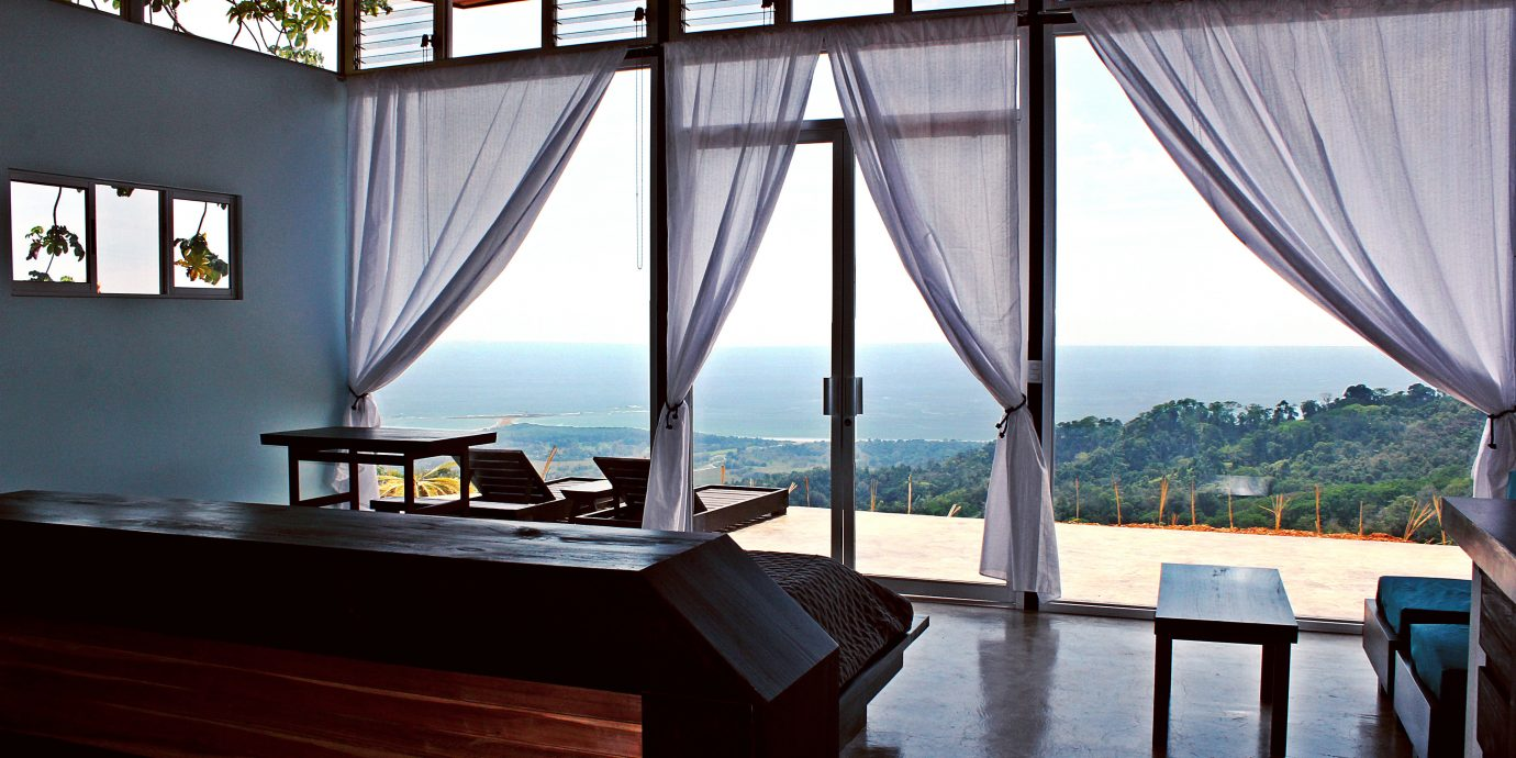 Balcony Bedroom Country Jungle Patio Romance Rustic Scenic views Waterfront property Architecture home Resort