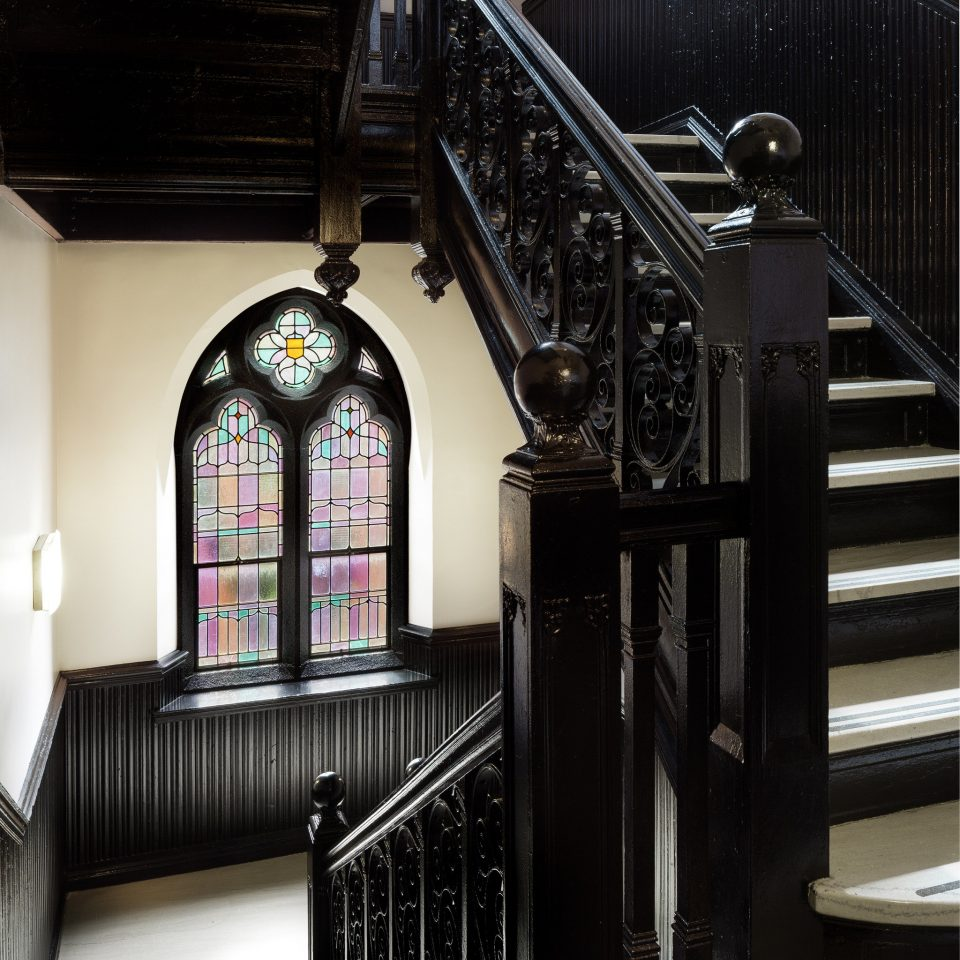 iron Architecture stairs black building home house handrail glass baluster chapel metal step