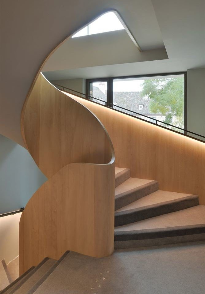 stairs house handrail Architecture building daylighting professional baluster step