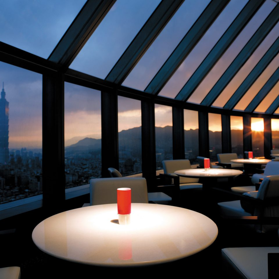 Bar Business City Drink Luxury Modern Rooftop overlooking Architecture lighting daylighting restaurant