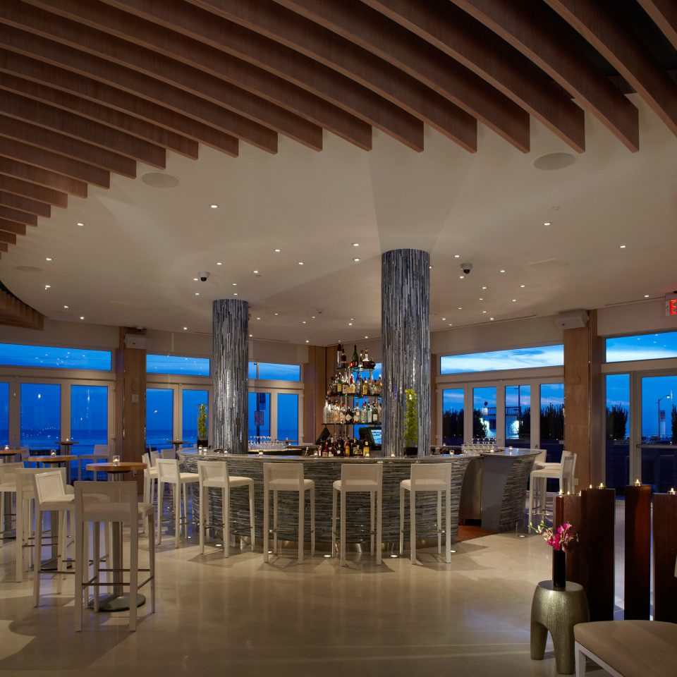 Bar Dining Drink Eat Hip Modern Lobby building Architecture convention center function hall shopping mall