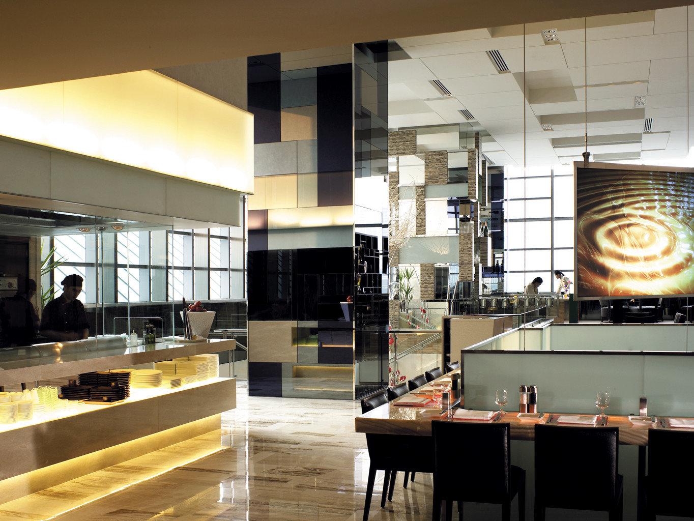 Bar Drink Eat Elegant Modern Kitchen Lobby Architecture lighting condominium professional cabinetry Island