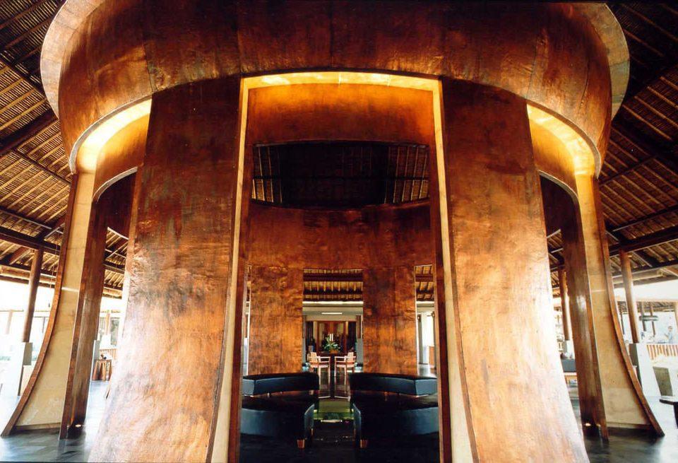 chair wooden building Architecture restaurant tourist attraction stone basement