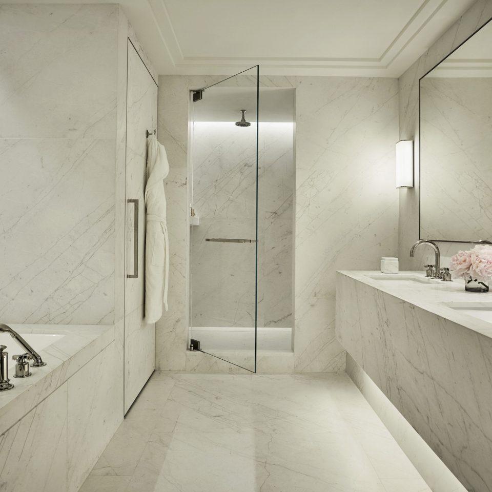 bathroom sink Architecture toilet home tile white tap product design house daylighting bidet plumbing fixture interior designer flooring bathtub Bath