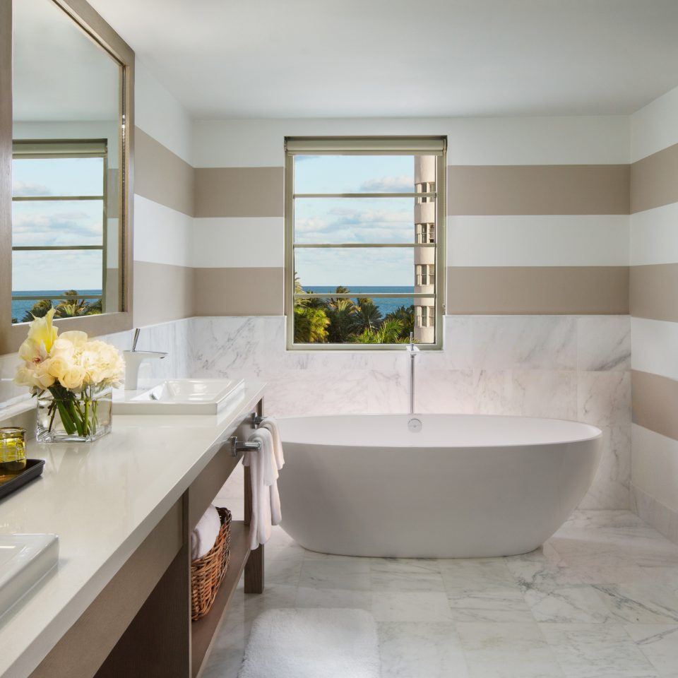 Architecture Bath Beach City bathroom property sink home cabinetry countertop Kitchen flooring