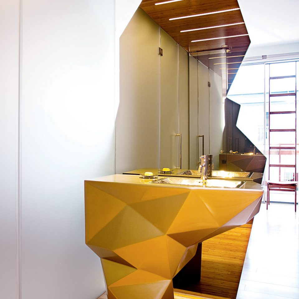 Bath Boutique City house Architecture stairs daylighting lighting flooring Lobby