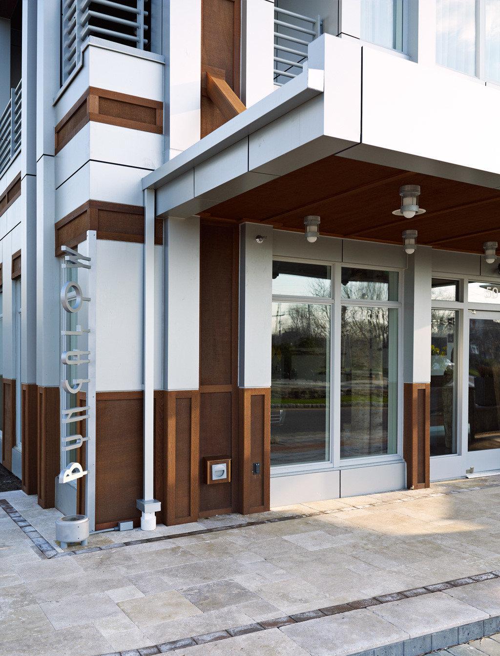 Beach Boutique Exterior Hip Party building commercial building Architecture door home porch outdoor structure