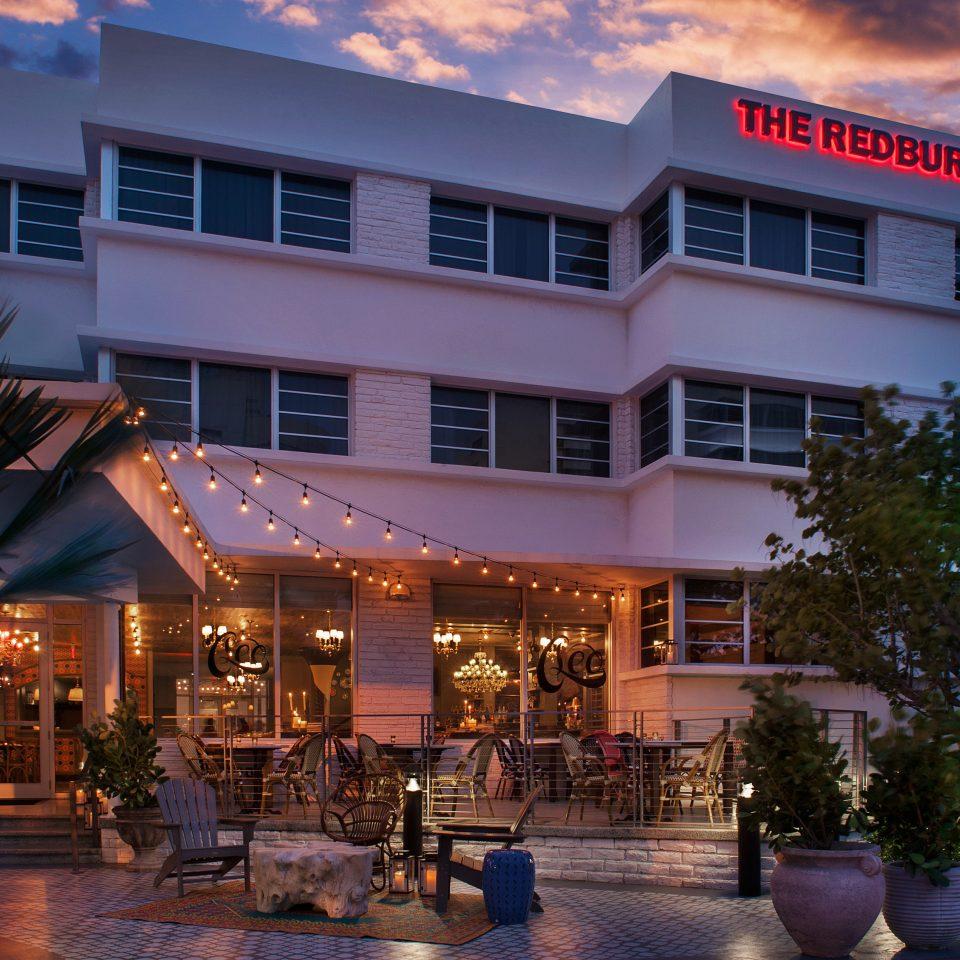 Architecture Beach City Grounds building sky property house Resort home plaza condominium apartment building