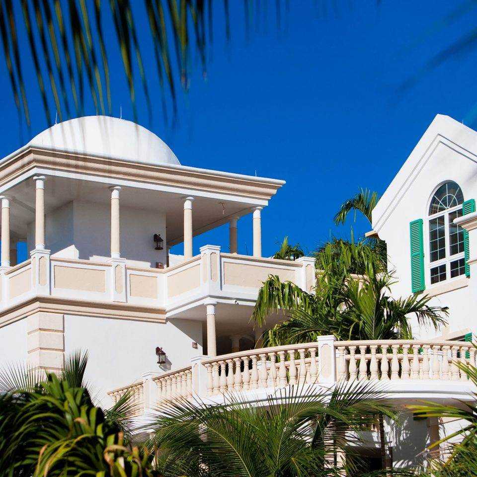 Beachfront Buildings Family Grounds Luxury Resort house building property Architecture home Villa condominium plant mansion palm
