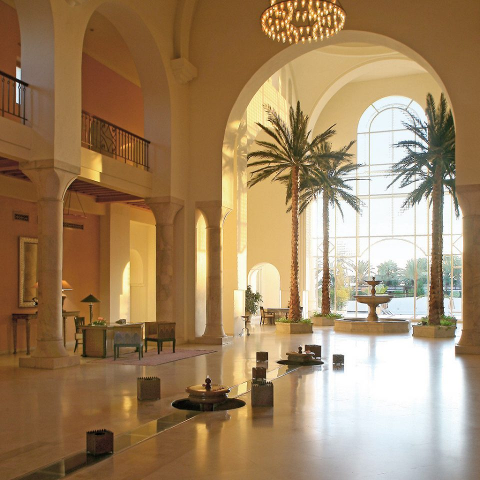 Beachfront Classic Lobby Luxury Resort property building Architecture arch palace tourist attraction art gallery Courtyard mansion museum hall ballroom colonnade