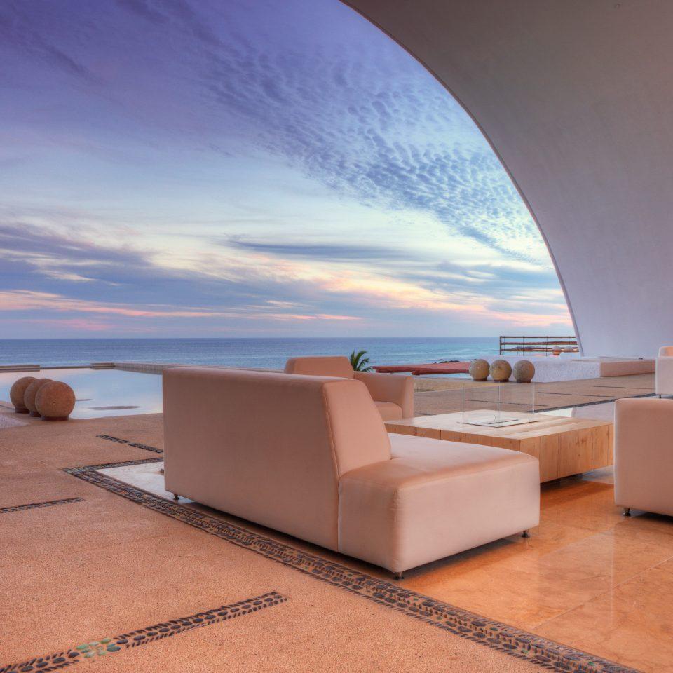 Beachfront Elegant Hip Hotels Lounge Modern Ocean Trip Ideas house Architecture home Villa