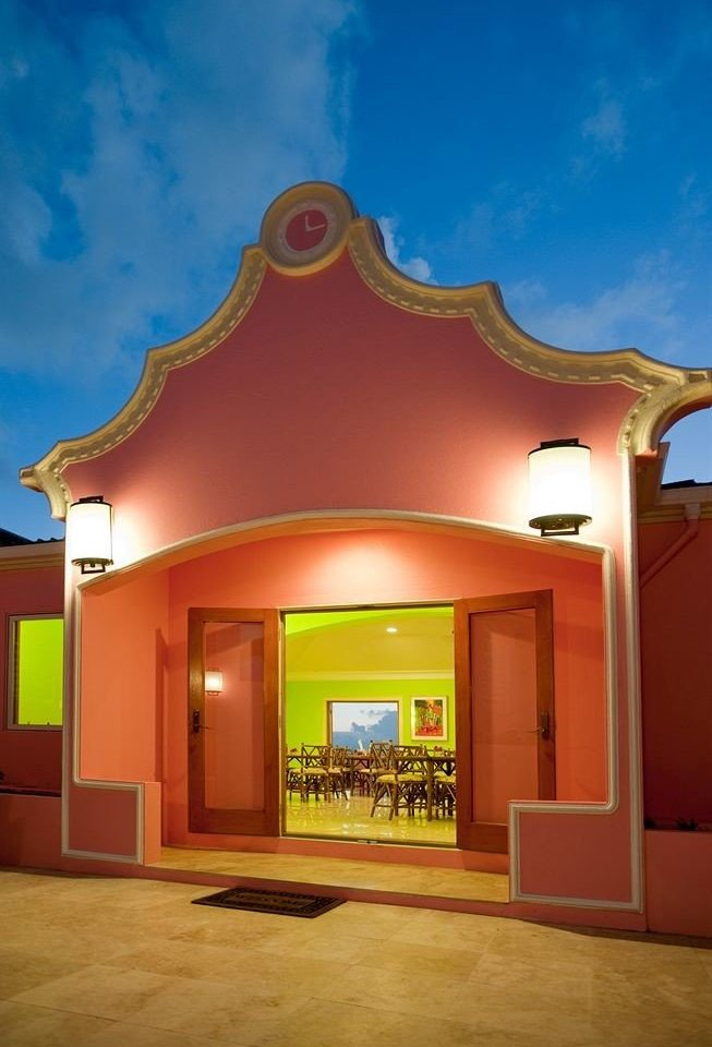 color property house building Architecture home hacienda mansion theatre tourist attraction arch open Bedroom