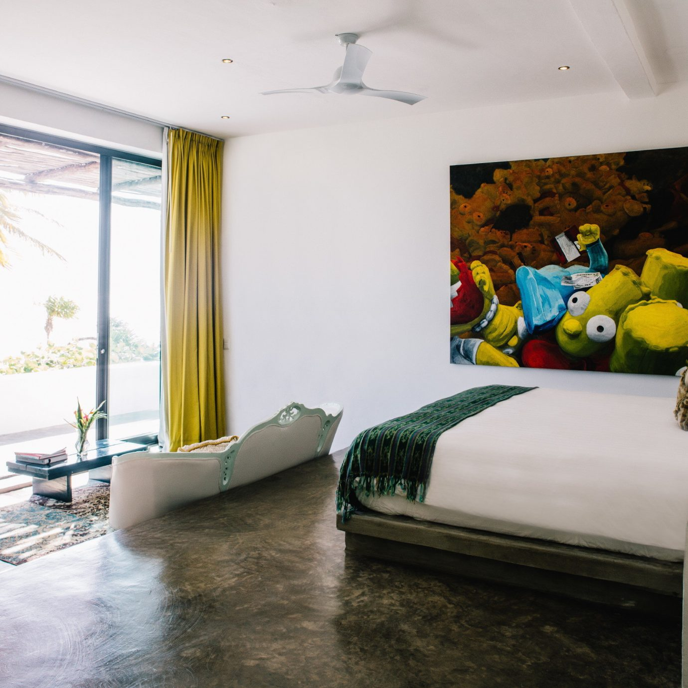 Boutique Hotels Hotels Mexico Tulum property Architecture Bedroom living room home Suite house loft interior designer condominium
