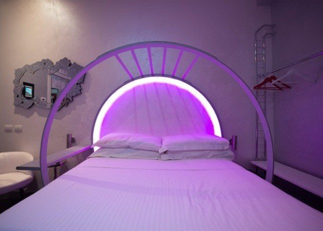 pink purple violet light lighting Architecture daylighting product Bedroom