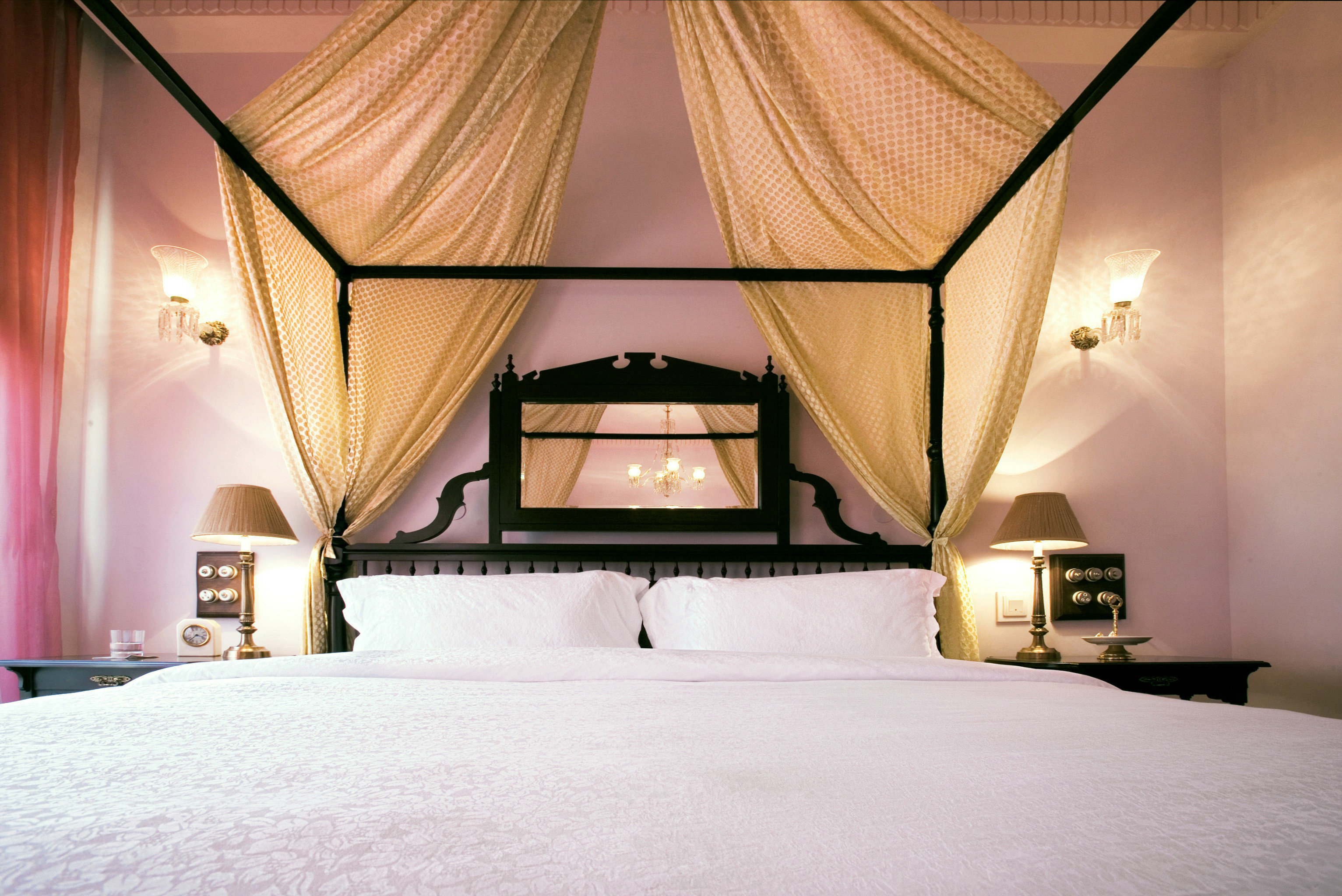 Bedroom Elegant Luxury Resort color house light Architecture home lighting lamp