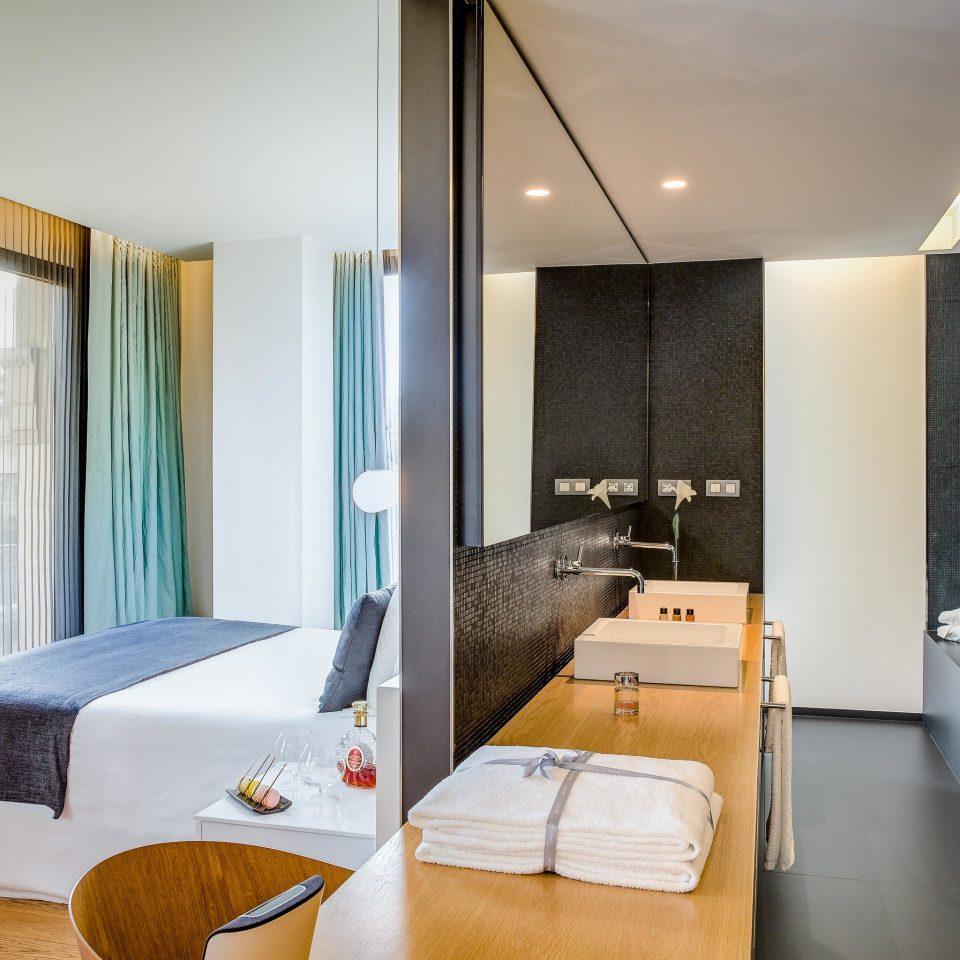 Suite Architecture Bedroom interior designer condominium Modern