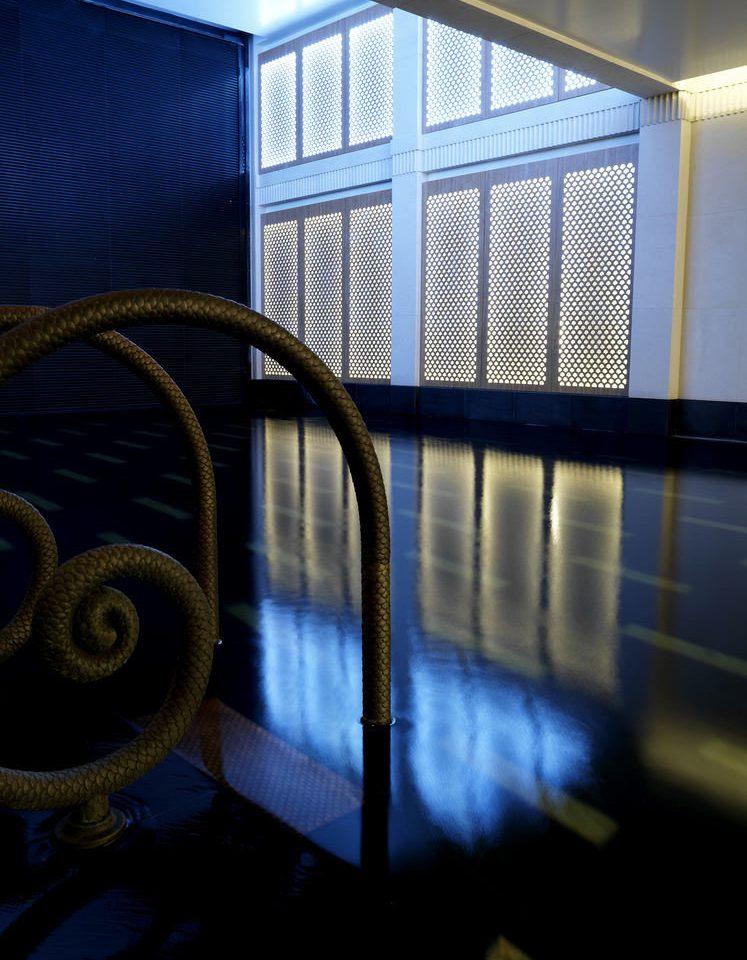 color blue light Architecture lighting shape screenshot glass symmetry sunlight