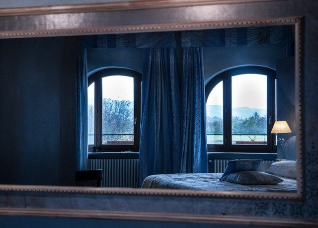 blue house living room home Architecture mansion window treatment