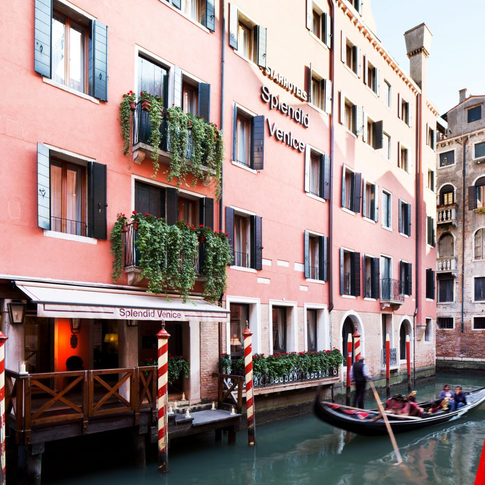 Architecture Boat Buildings Historic River Romance Romantic Waterfront building water waterway vehicle Canal apartment building