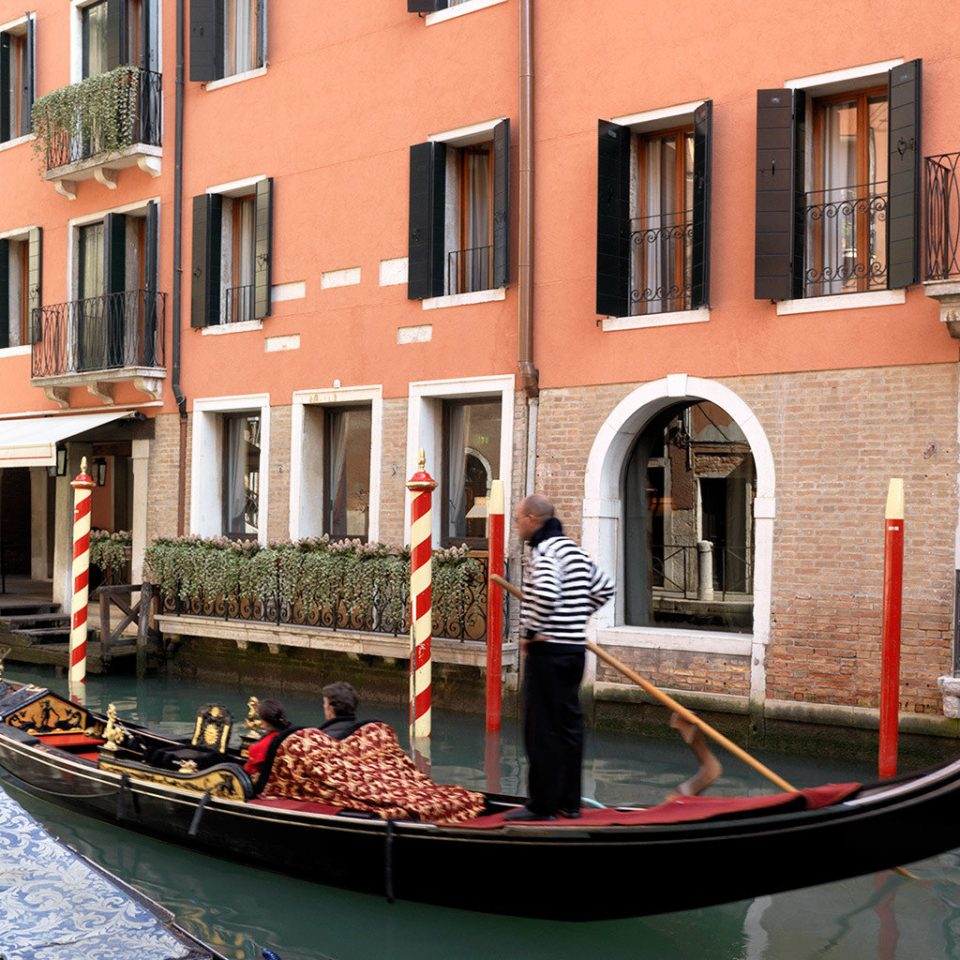Architecture Boat Buildings Historic River Romance Romantic Waterfront building gondola vehicle waterway watercraft Canal