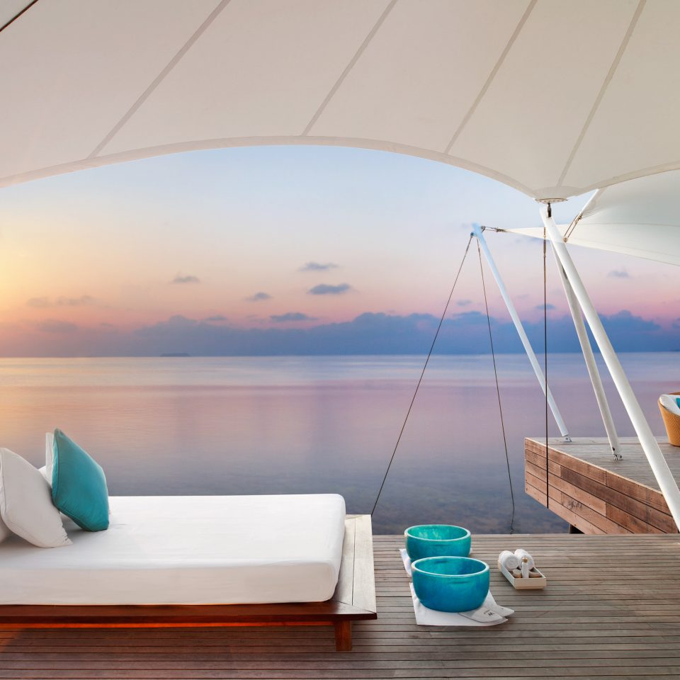 Elegant Lounge Luxury Ocean Overwater Bungalow Trip Ideas Boat Architecture yacht lighting swimming pool