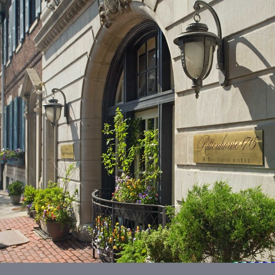 Boutique Boutique Hotels Classic Elegant Exterior Historic Hotels Inn Philadelphia building property Architecture Courtyard home arch mansion chapel stone Garden