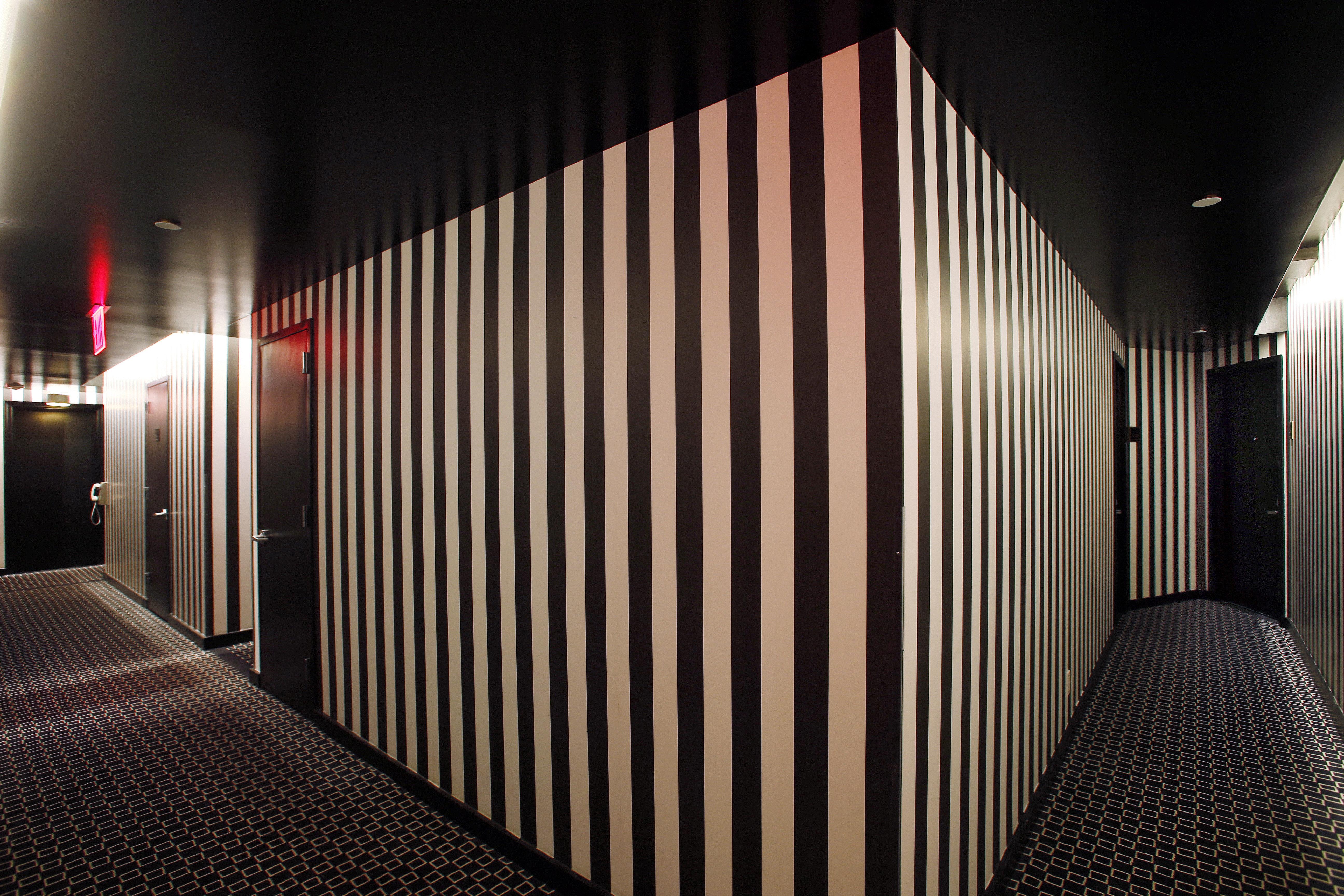 Boutique Budget Grounds Hip Modern light Architecture auditorium hall stage theatre dark