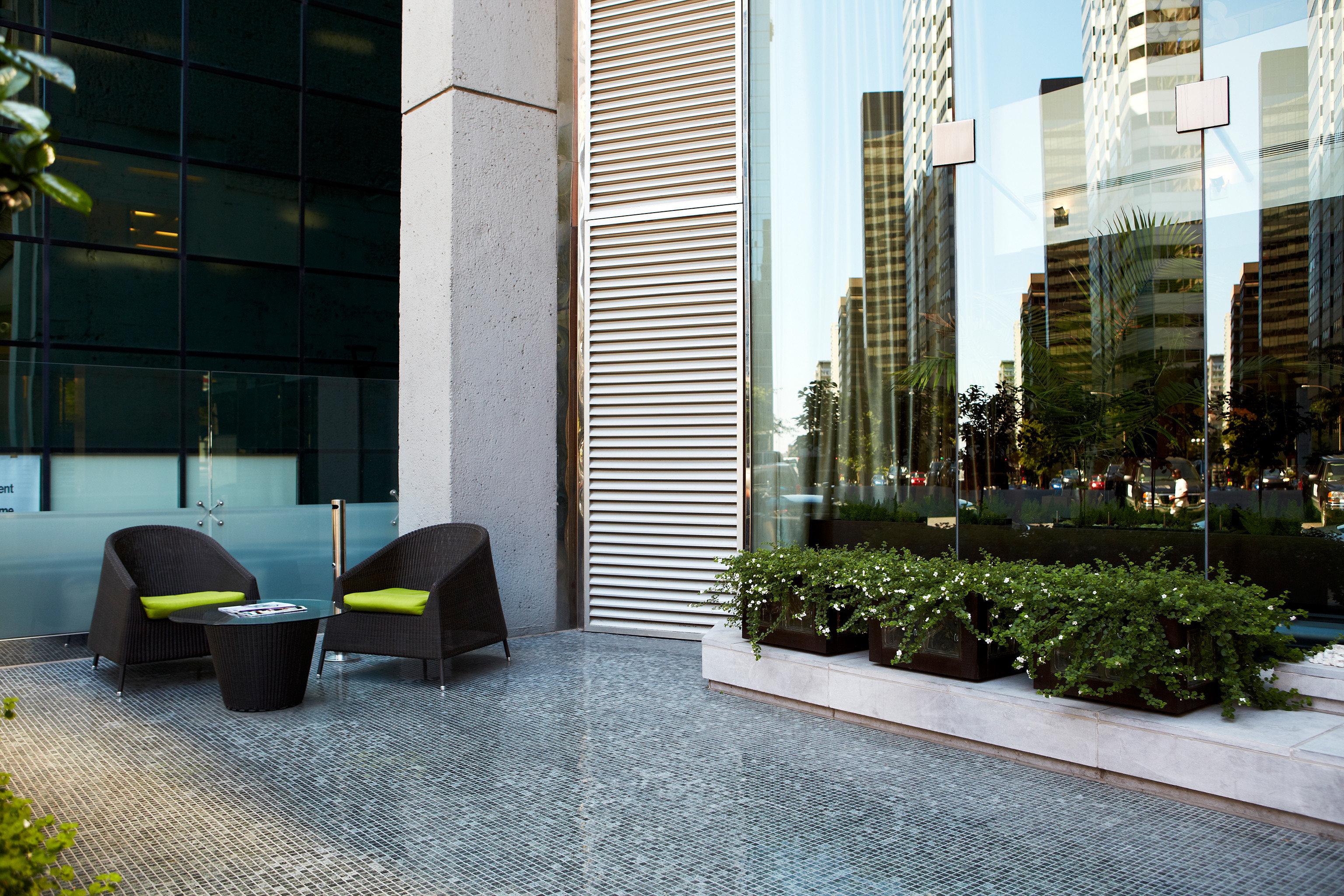 Architecture Boutique Buildings City Modern Patio Scenic views property condominium home Courtyard