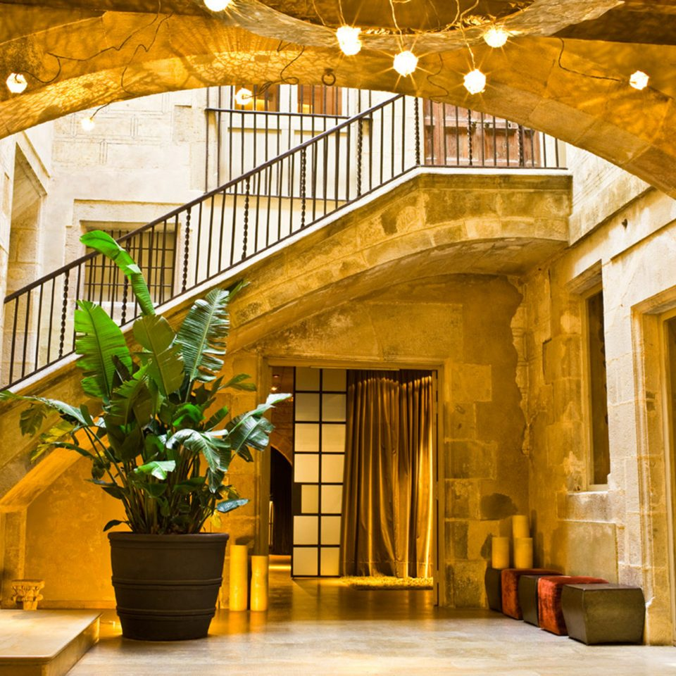 Boutique City Hip Historic Lobby building Architecture palace arch ancient history Courtyard stone