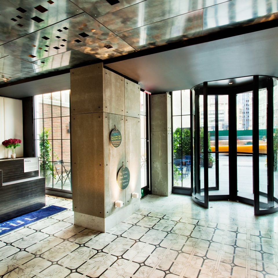 Boutique Hip Lobby Modern property Architecture condominium home mansion professional Courtyard tiled tile