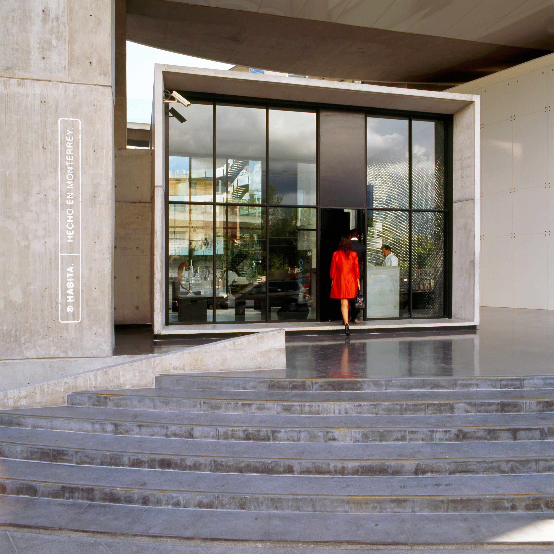 Boutique Exterior Modern building ground Architecture door home flooring professional