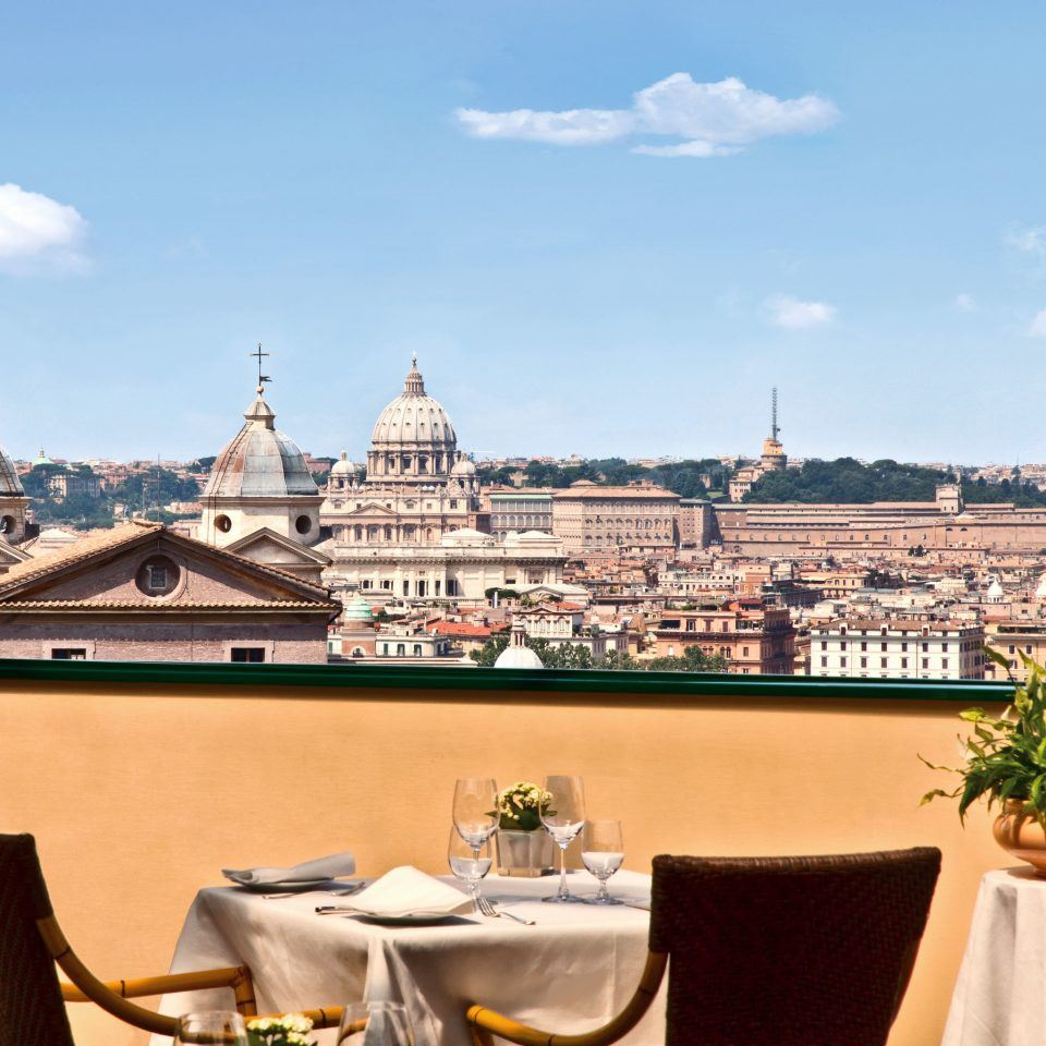 Architecture Boutique Hotels Buildings City Classic Dining Drink Eat Elegant Italy Luxury Luxury Travel Romance Romantic Romantic Hotels Rome Rooftop Scenic views palace Resort