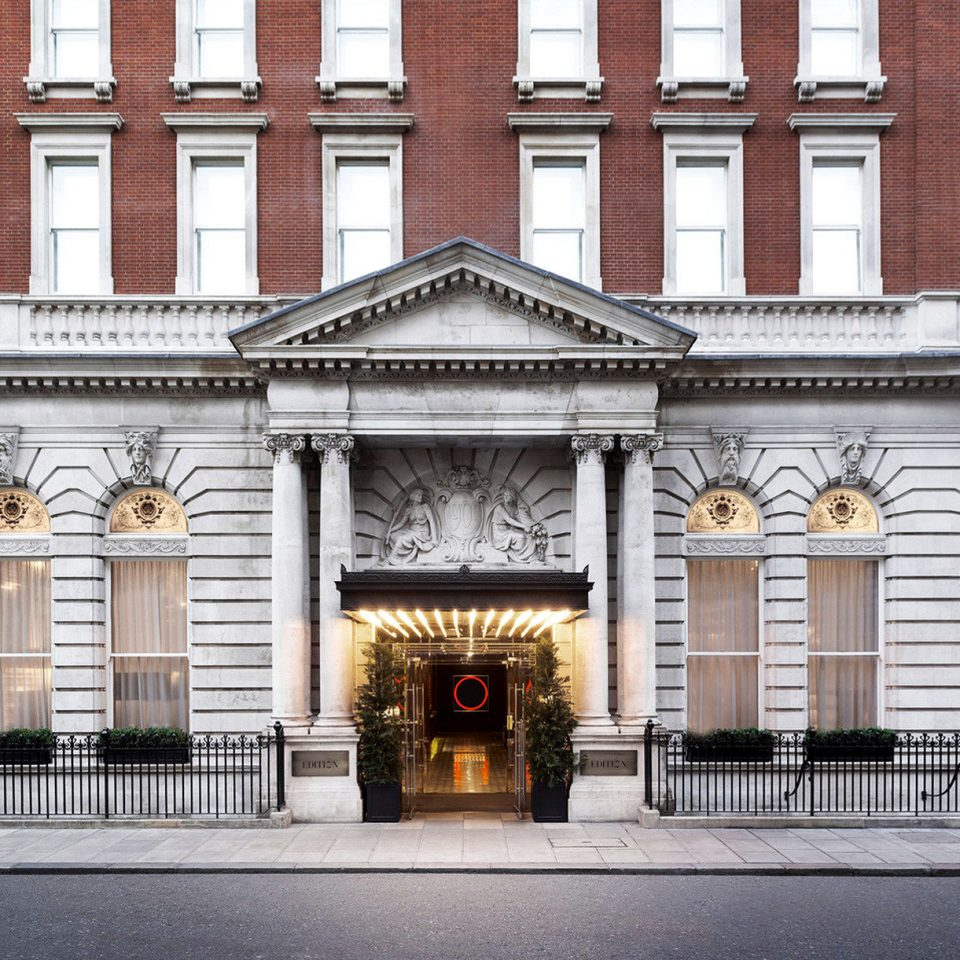 Architecture Boutique Hotels Buildings Exterior Historic London Romantic Hotels building palace government building tourist attraction synagogue tall stone