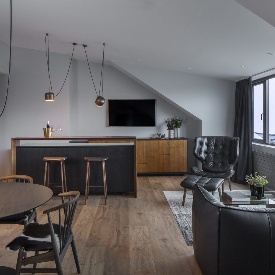 Boutique Hotels Hotels Iceland Outdoors + Adventure Reykjavík Road Trips chair Architecture living room loft house interior designer