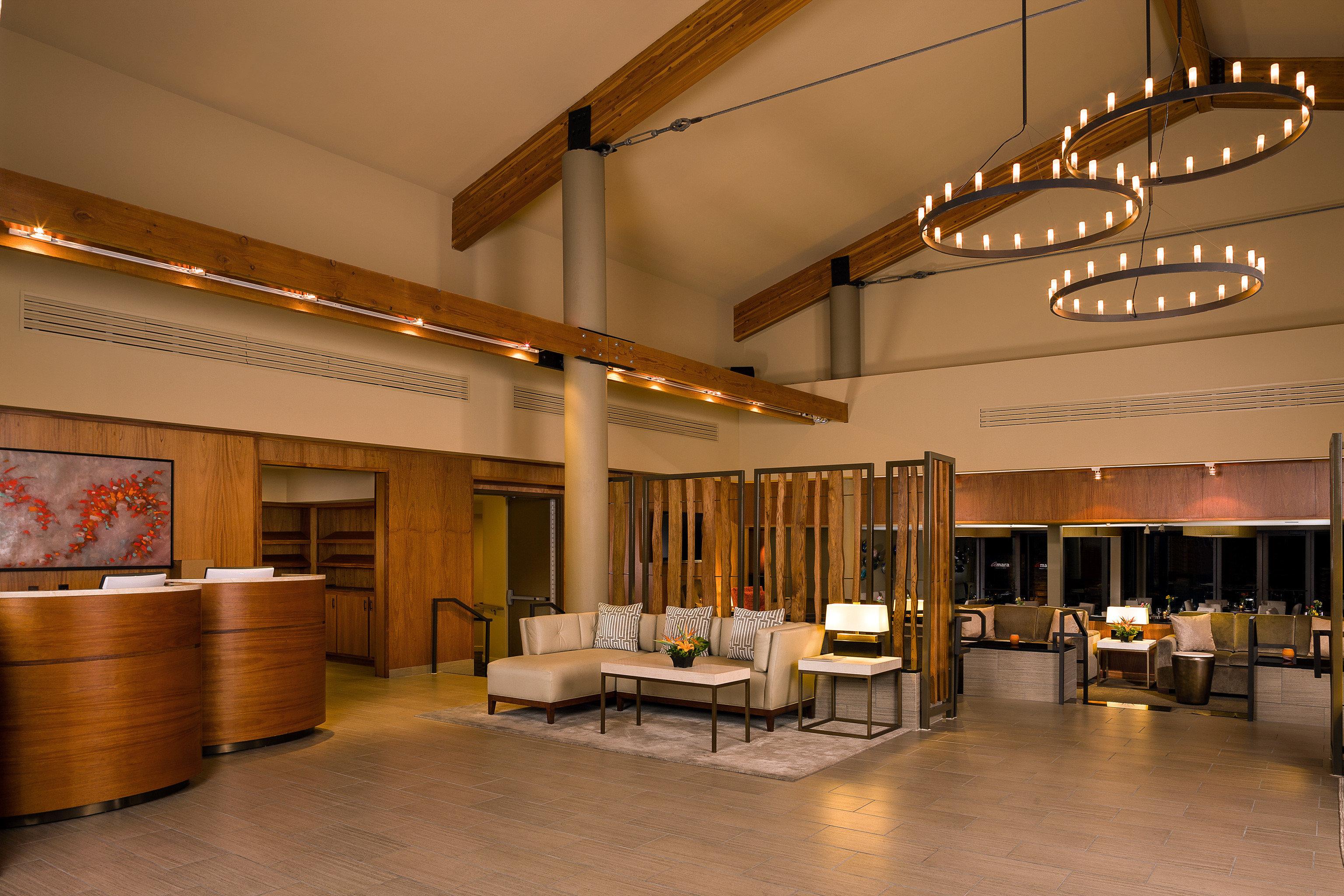 Boutique Lobby Modern building Architecture lighting convention center restaurant
