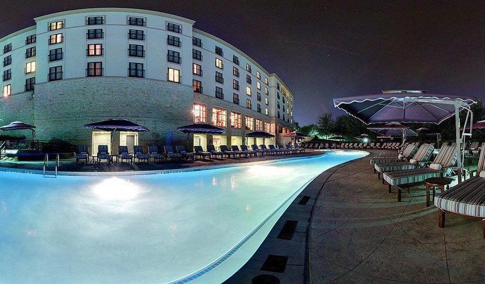 night building landmark Architecture swimming pool cityscape