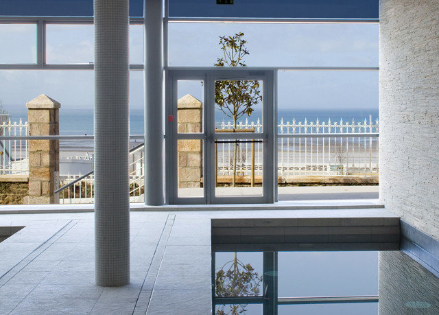 Architecture building house daylighting home overlooking professional door glass tourist attraction colonnade