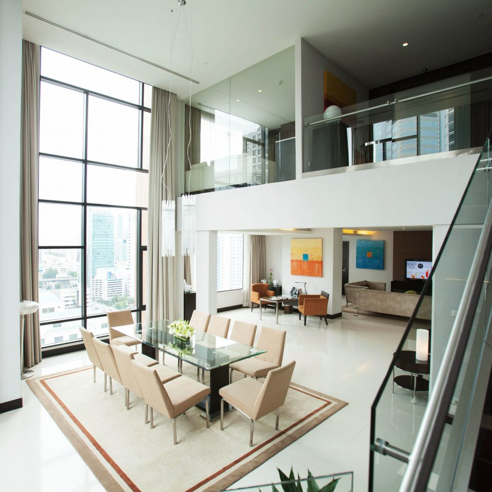 property condominium building living room Architecture home daylighting loft professional