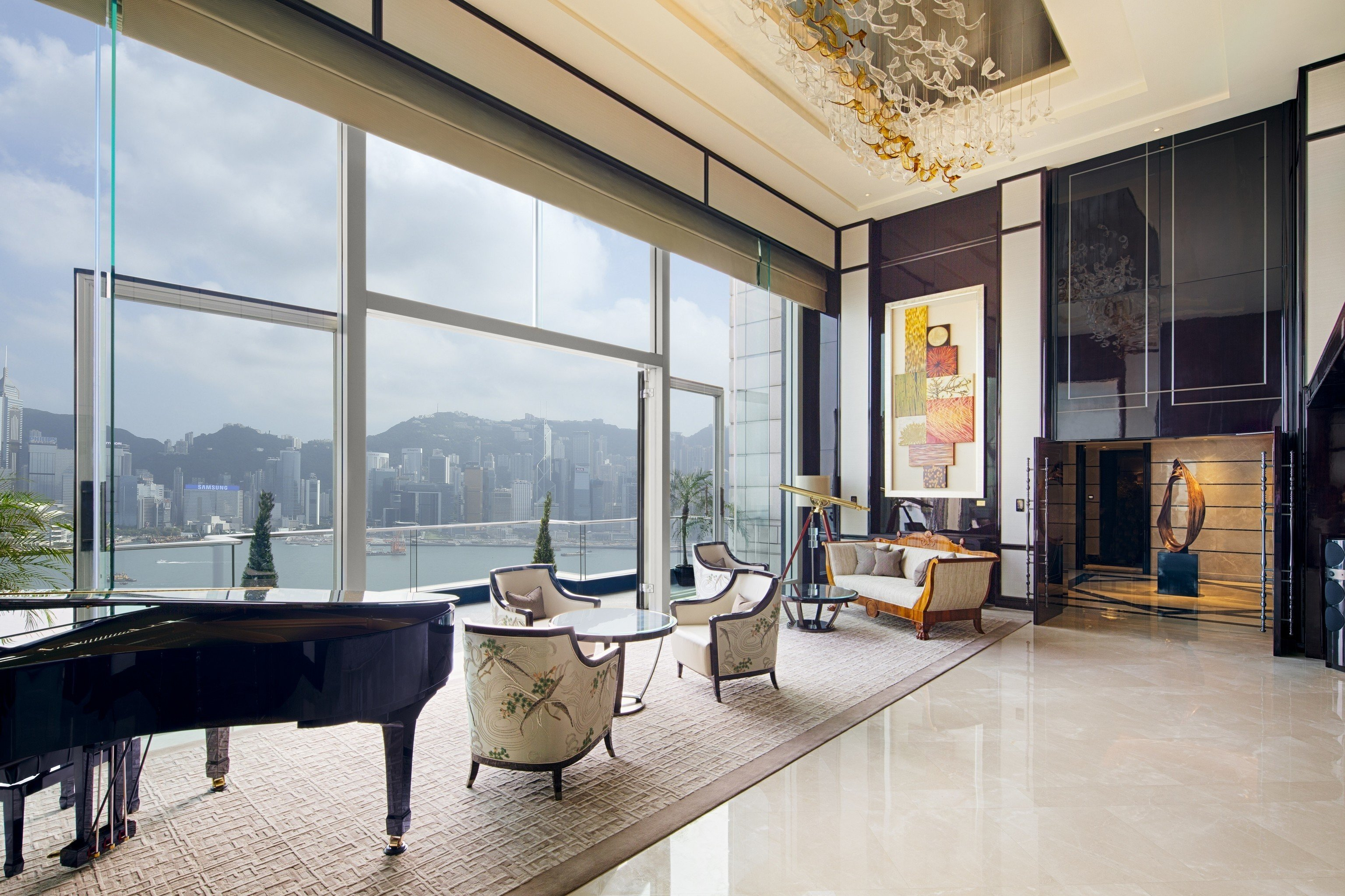 building property house Architecture home living room condominium flooring professional loft
