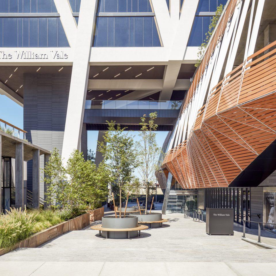 building Architecture plaza condominium headquarters walkway stone