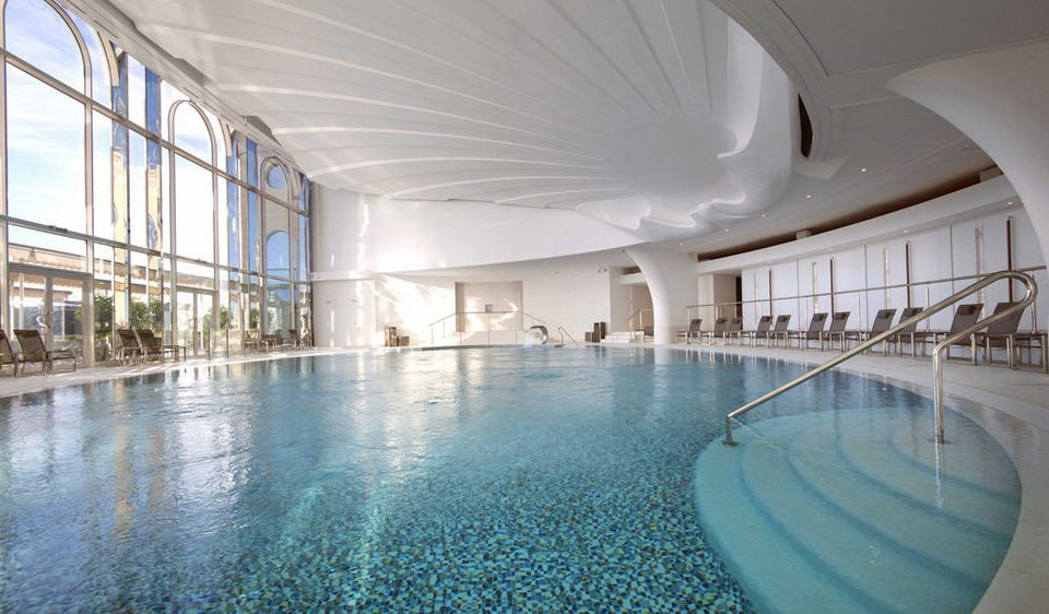 swimming pool property building Architecture leisure centre daylighting thermae headquarters convention center