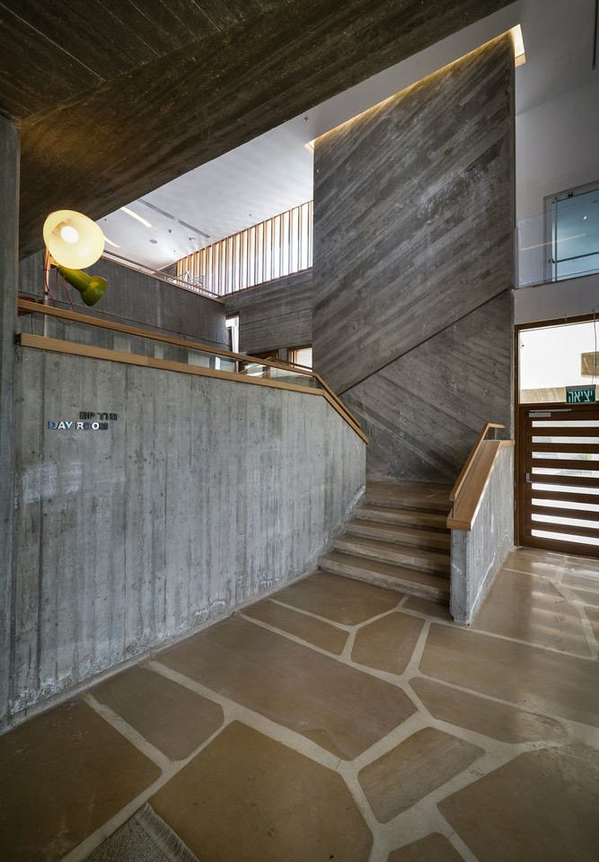 house Architecture building stairs professional daylighting home flooring hall