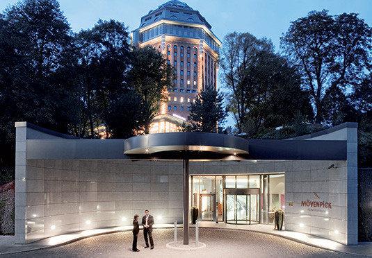tree landmark building Architecture plaza lighting headquarters pavilion