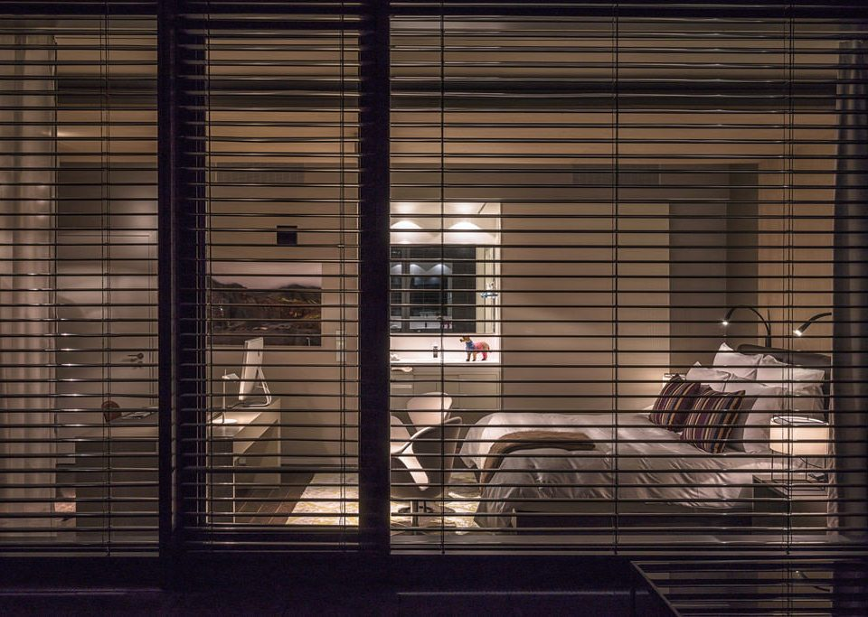 building window blind Architecture window treatment lighting