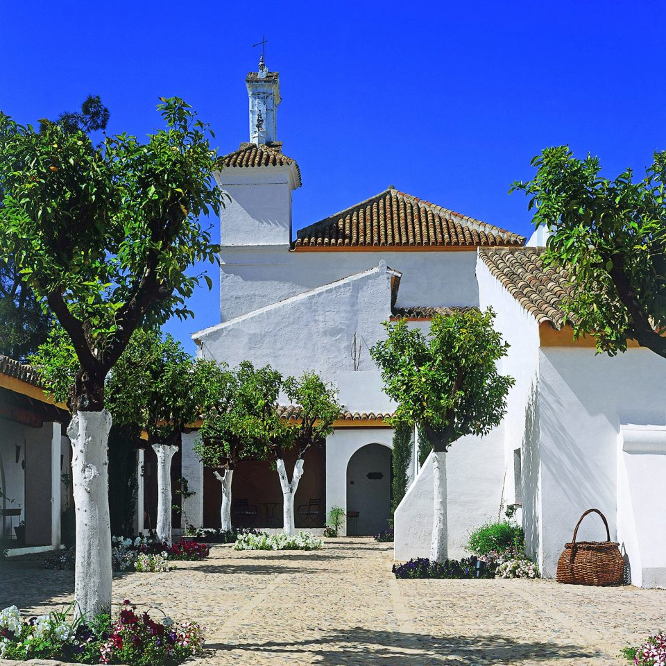 Architecture Buildings Exterior Grounds Historic Villa tree property house building place of worship Church home chapel Village cottage hacienda spanish missions in california monastery